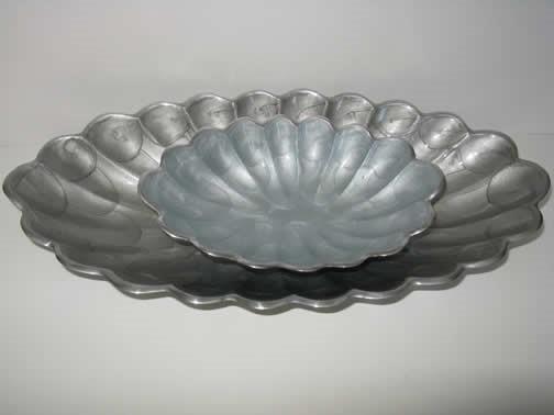 oval peonies II