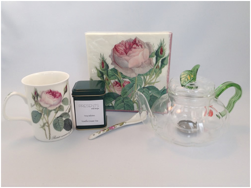 roses and tea for one